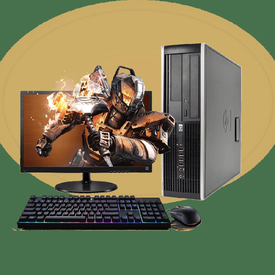 Refurb -  CK Quad Core 4GB RAM,500GB HDD Full Set Gaming PC, B