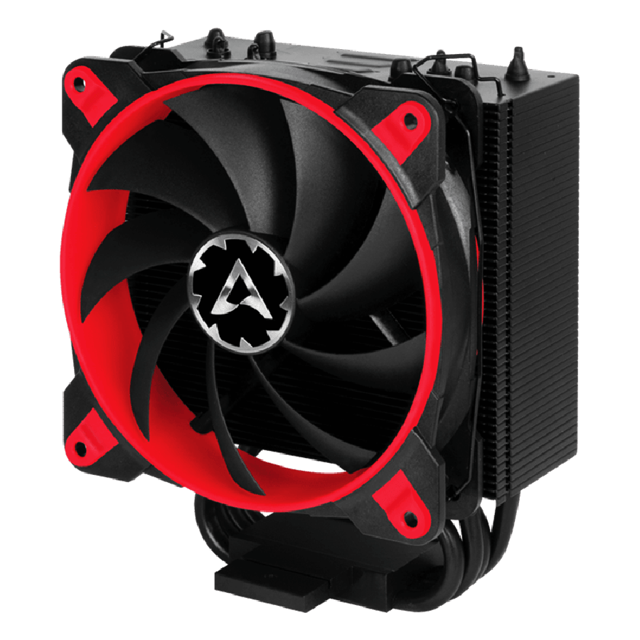 Arctic Freezer 33 eSports ONE Edition, Intel & AMD Sockets, Bionix Fan, Fluid Dynamic Bearing Heatsink & Fan - Black & Red