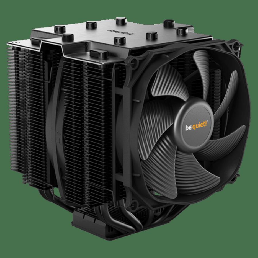 Be Quiet! BK021 Dark Rock 4 Heatsink & Fan, Intel & AMD Sockets, Silent Wings Fan, Fluid Dynamic - Black
