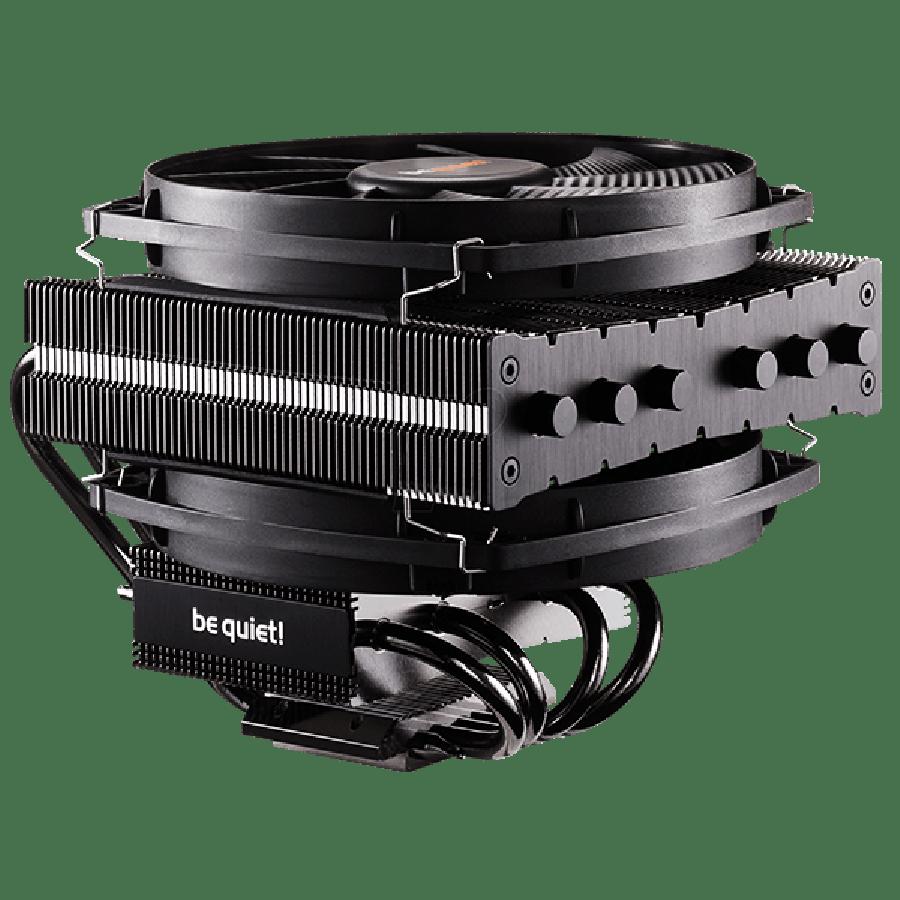 Be Quiet! BK020 Dark Rock TF Heatsink & Fan, Intel & AMD Sockets, Dual Silent Wings Fans, Fluid Dynamic - Black