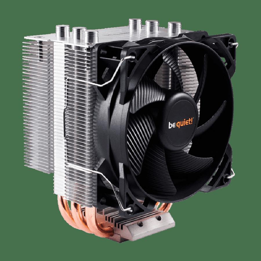Be Quiet! BK008, Intel & AMD Sockets, 92MM PWM Pure Rock Slim Heatsink & Fan - Black