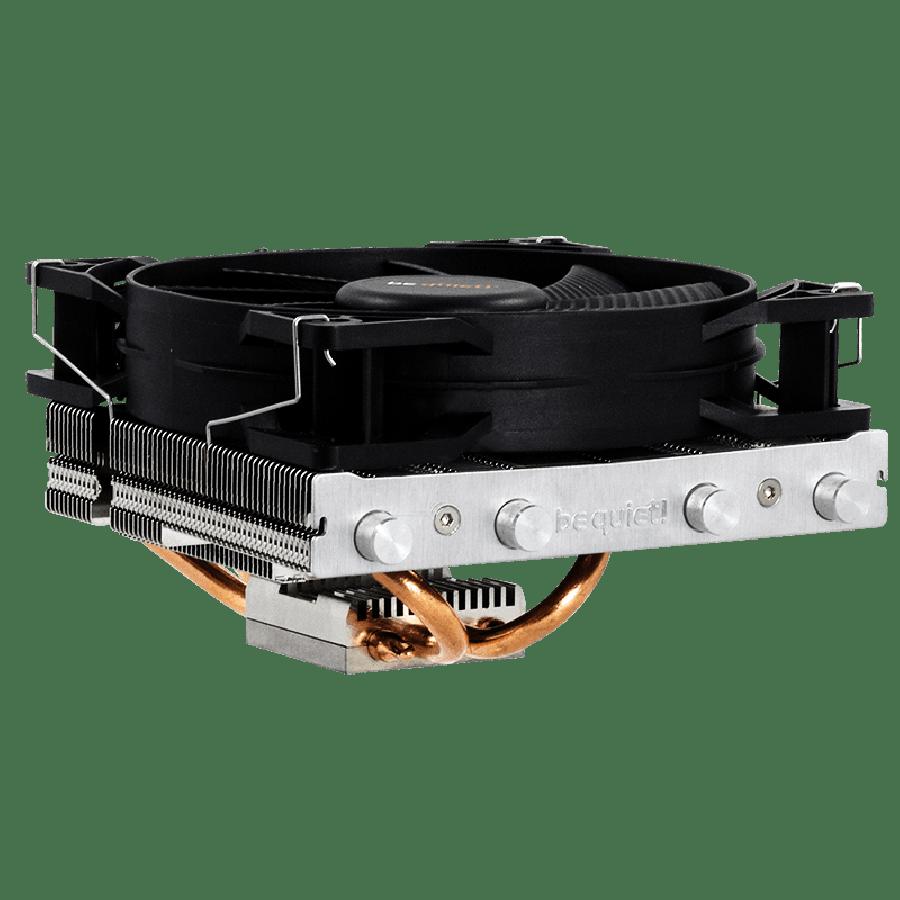 Be Quiet! BK002 Shadow Rock LP Heatsink & Fan, Intel & AMD Sockets, Pure Wings 2 Fan, Low Profile - Black
