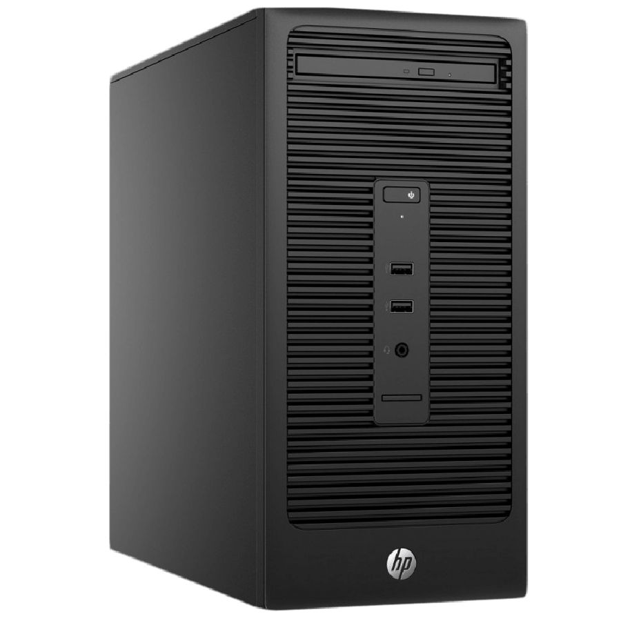 Refurbished HP 280 G1MT/i5-4590S/4GB Ram/240GB SSD/DVD-RW/Windows 10 Pro , B