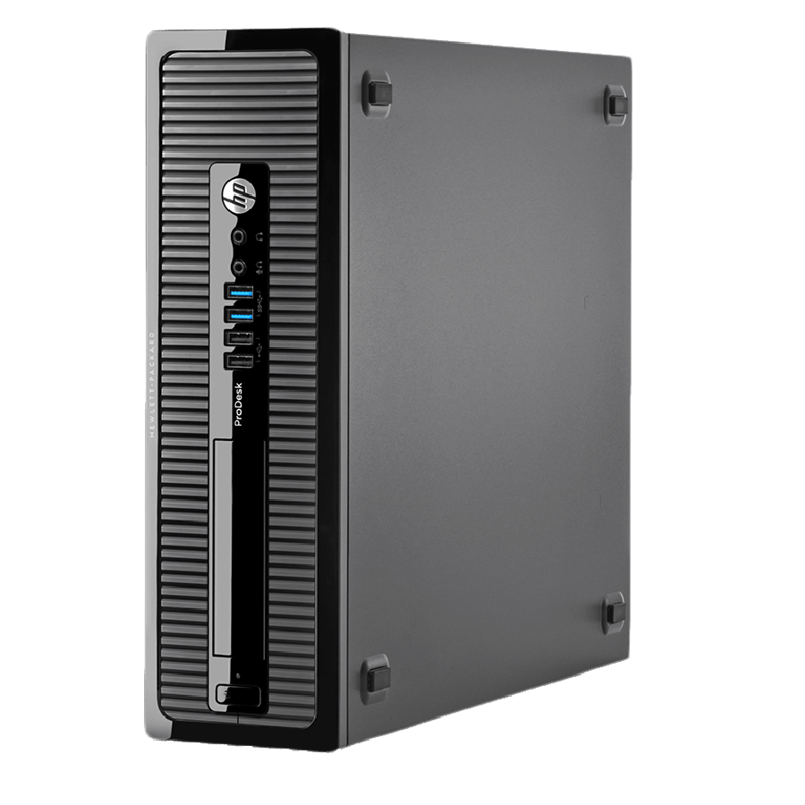 Refurbished HP ProDesk 400 G1 SFF/i3-4130/4GB RAM/500GB HDD/DVD-RW/COA 120 UNITS/Windows 10/B