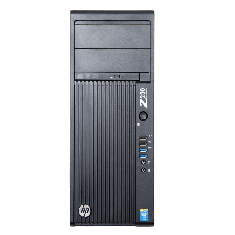 Refurbished HP Z230 Tower Workstation E3-1270 v3 3.50GHz NVIDIA Quadro K2000 , B