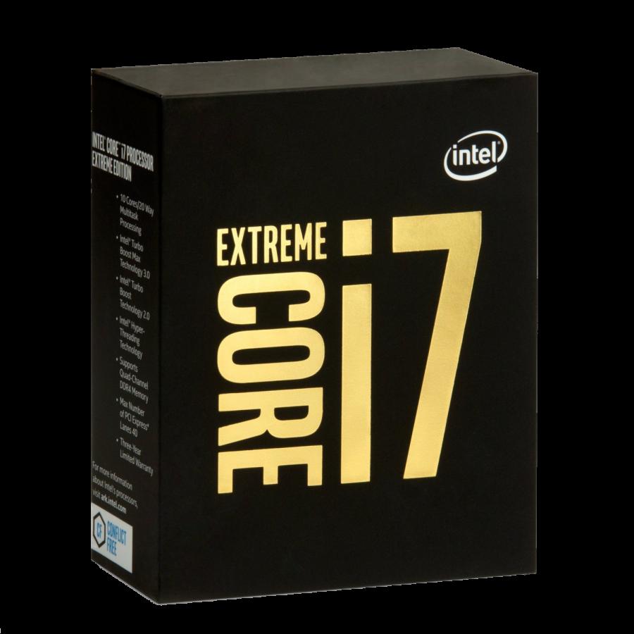 Intel Core i7-6950X CPU, 2011-3, 3.0GHz, 10-Core, 140W, 25MB Cache, Overclockable, No Graphics, NO HEATSINK/FAN