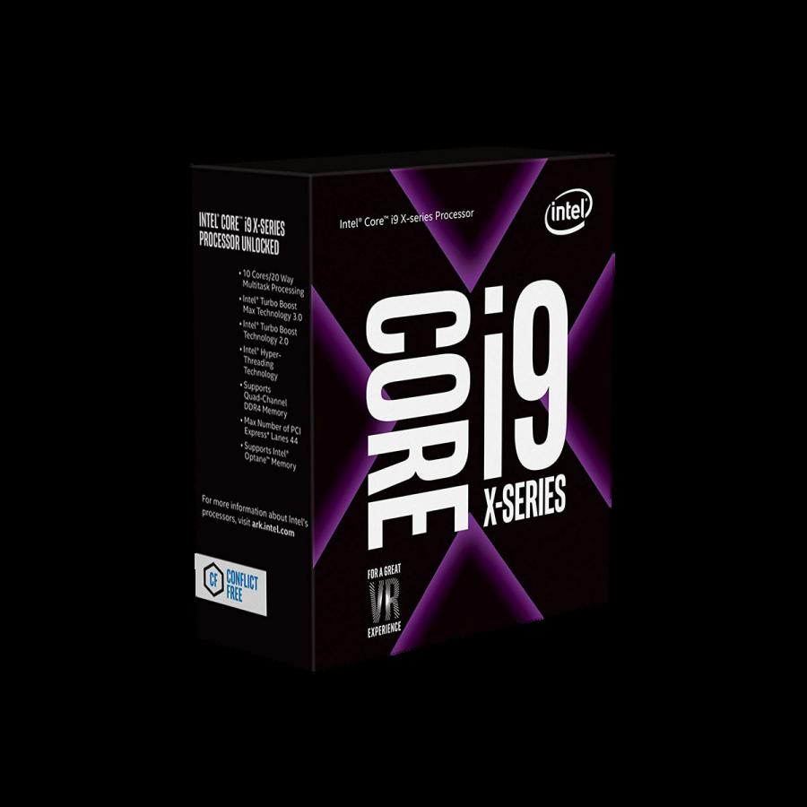 Intel Core i9-7920X CPU, 2066, 2.9GHz (4.3 Turbo), 12-Core, 140W, 16.5MB Cache, Overclockable, No Graphics, Sky Lake, NO HEATSINK/FAN