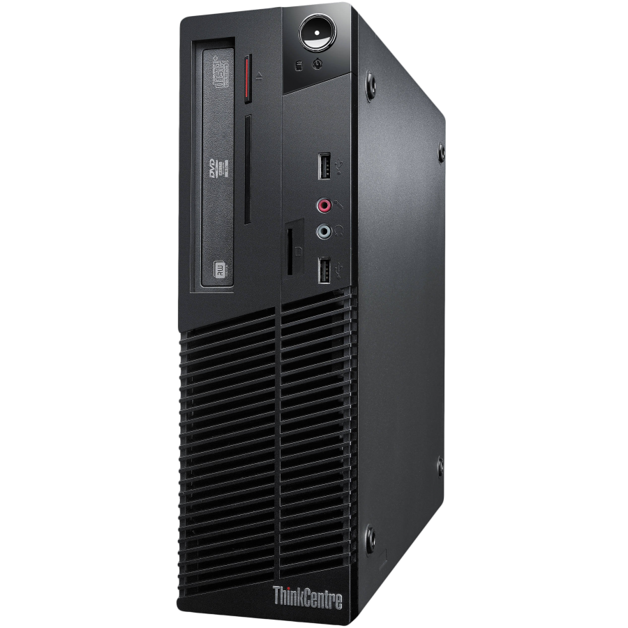 Refurbished Lenovo Think Centre M81/i3-2100/4GB RAM/500GB HDD/DVD-RW/Windows 10/B