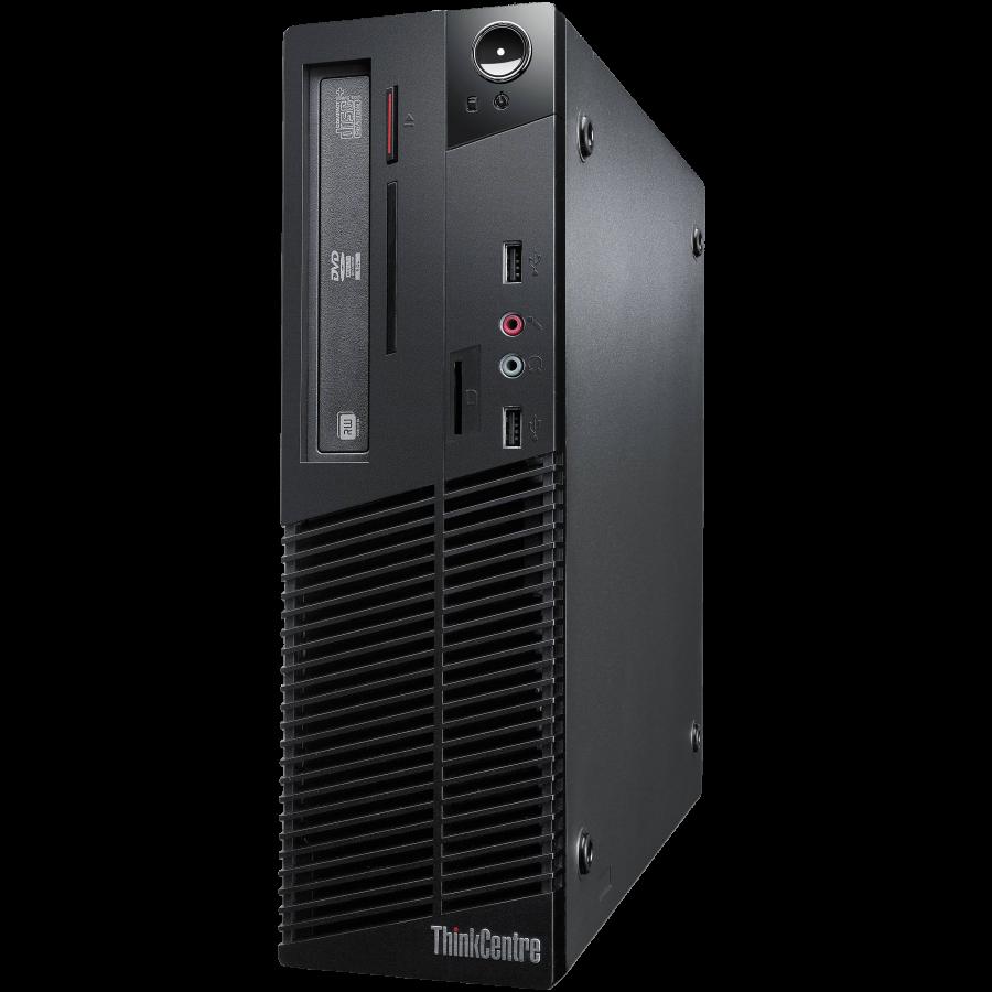 Refurbished Lenovo Thinkcentre M91P/i5-2400/4GB RAM/250GB HDD/DVD-RW/Windows 10/B