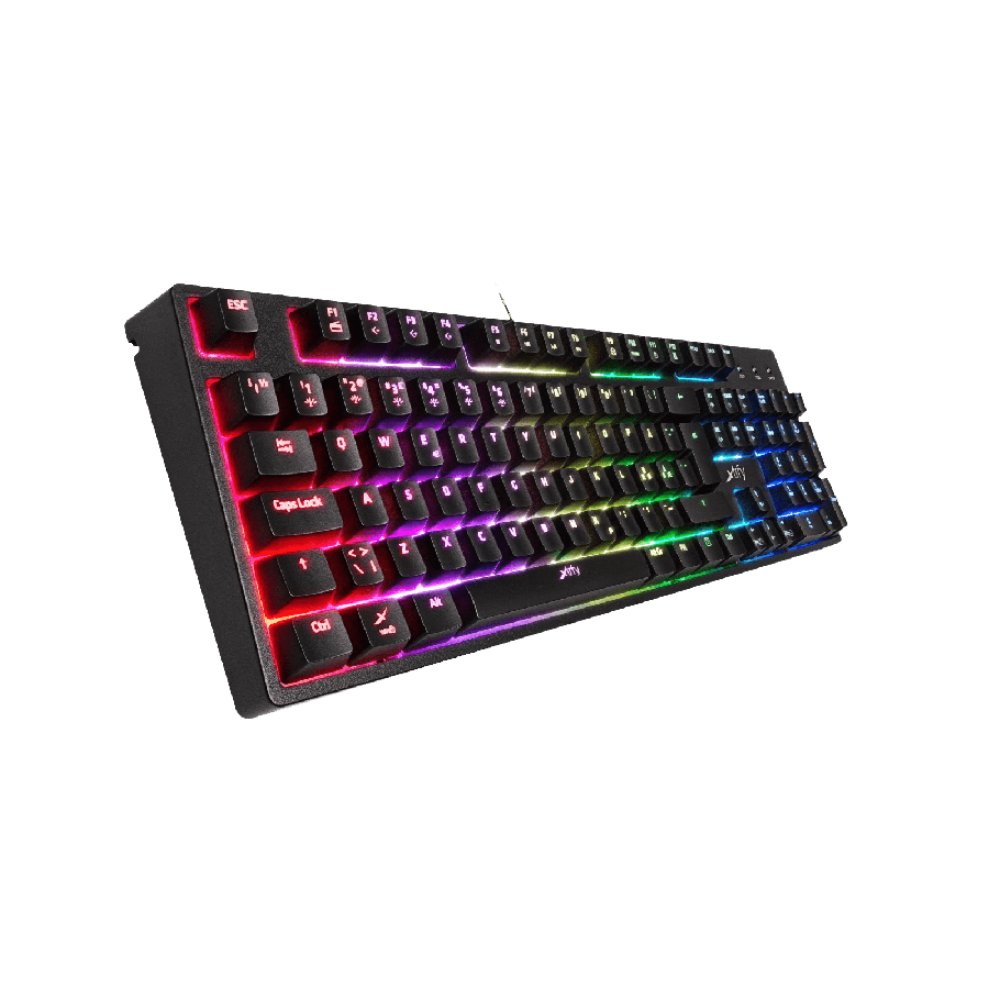 Xtrfy K3-RGB Mem-Chanical Gaming Keyboard Mechanical Feel Switches RGB Lighting Anti Ghosting Keys