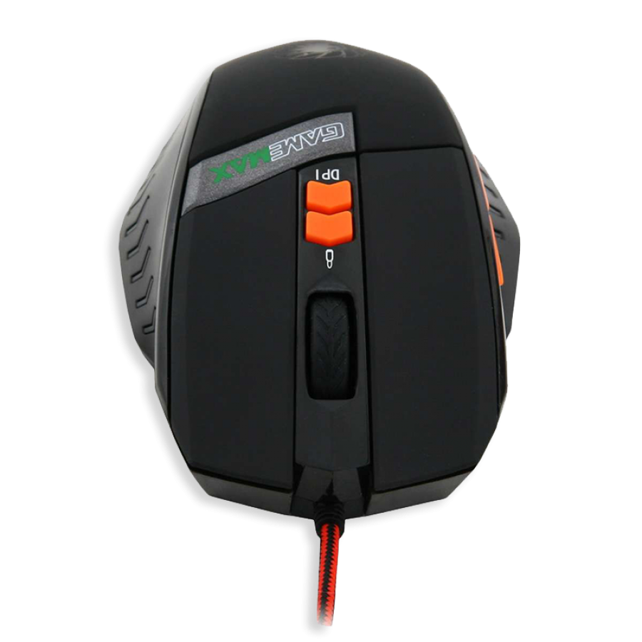 Game Max Hurricane Wired Programmable Gaming Mouse