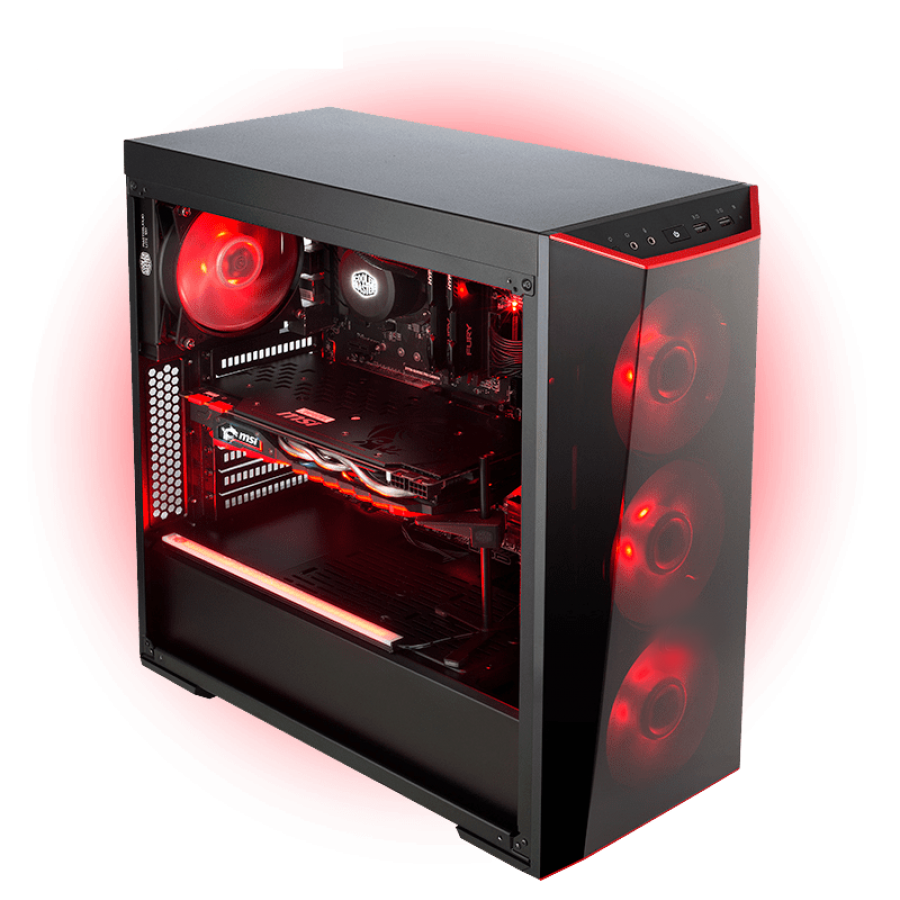 CK - AMD Ryzen 5, GTX 1050 Ti  Gaming PC