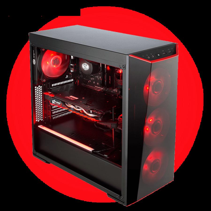 CK - AMD Ryzen 5 2400G/8GB RAM/1TB HDD/120GB SSD/Gaming PC