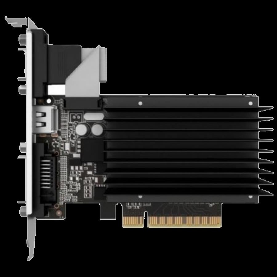Asus GT710, 2GB DDR3, PCIe2, VGA, DVI, HDMI, GPU Tweak II, Silent, Low Profile (No Bracket)