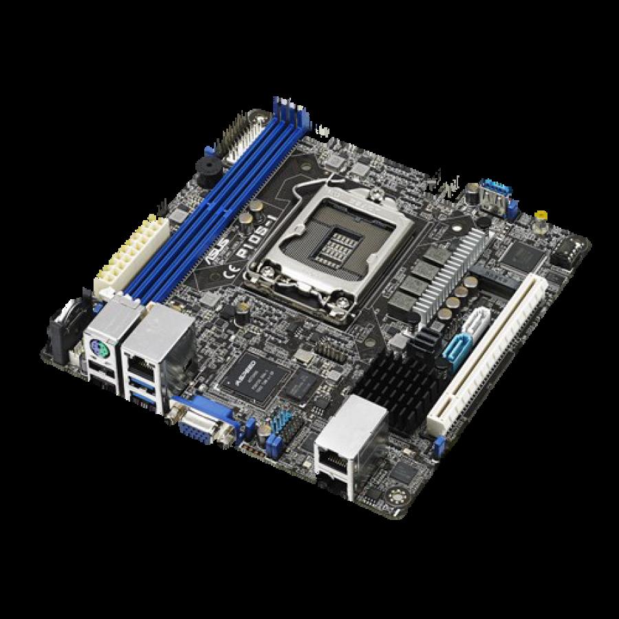 Asus P10S-I, Server/WS, Intel C232, 1151, Mini ITX, DDR4, Dual GB LAN, M.2, RAID