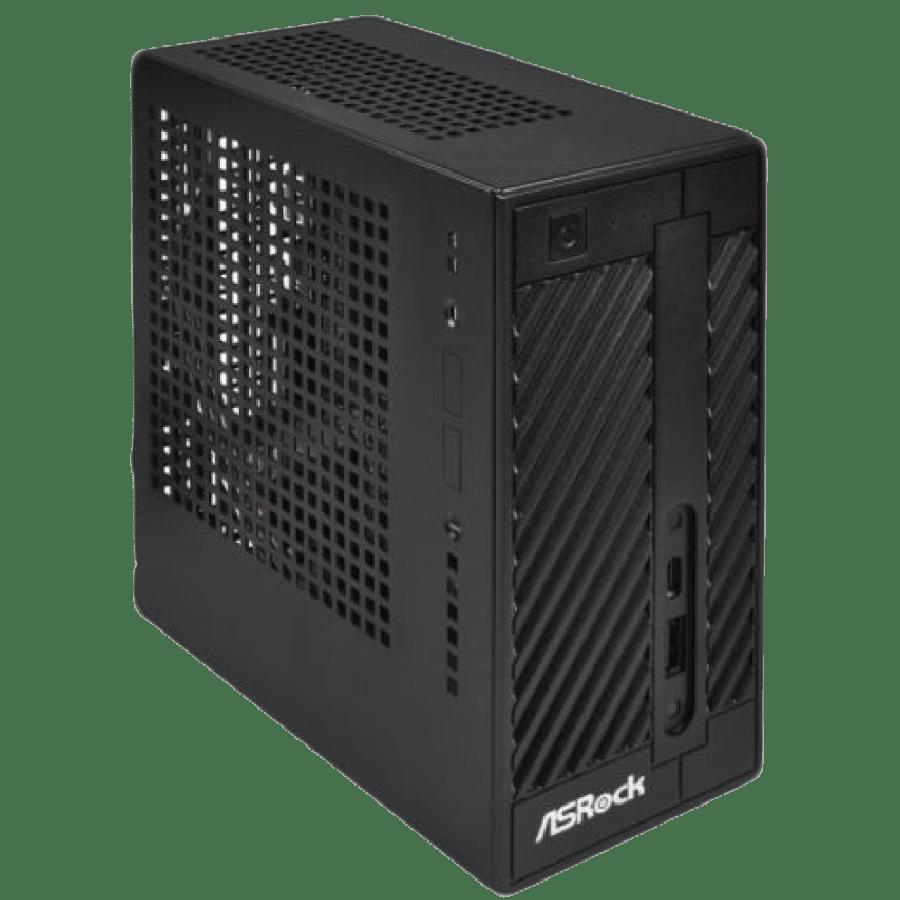 Asrock DeskMini 110 Barebone PC, Mini STX, 1151 (H110), DDR4 SO-DIMM, M.2, VGA, HDMI, DP, No CPU, RAM, HDD or O/S