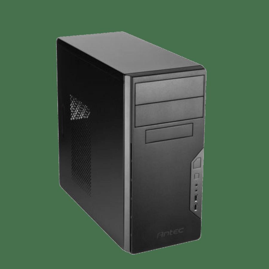 Antec VSK3000B, i3-8100, 4GB, 120GB SSD, Corsair 450W, KB & Mouse, Windows 10 Pro
