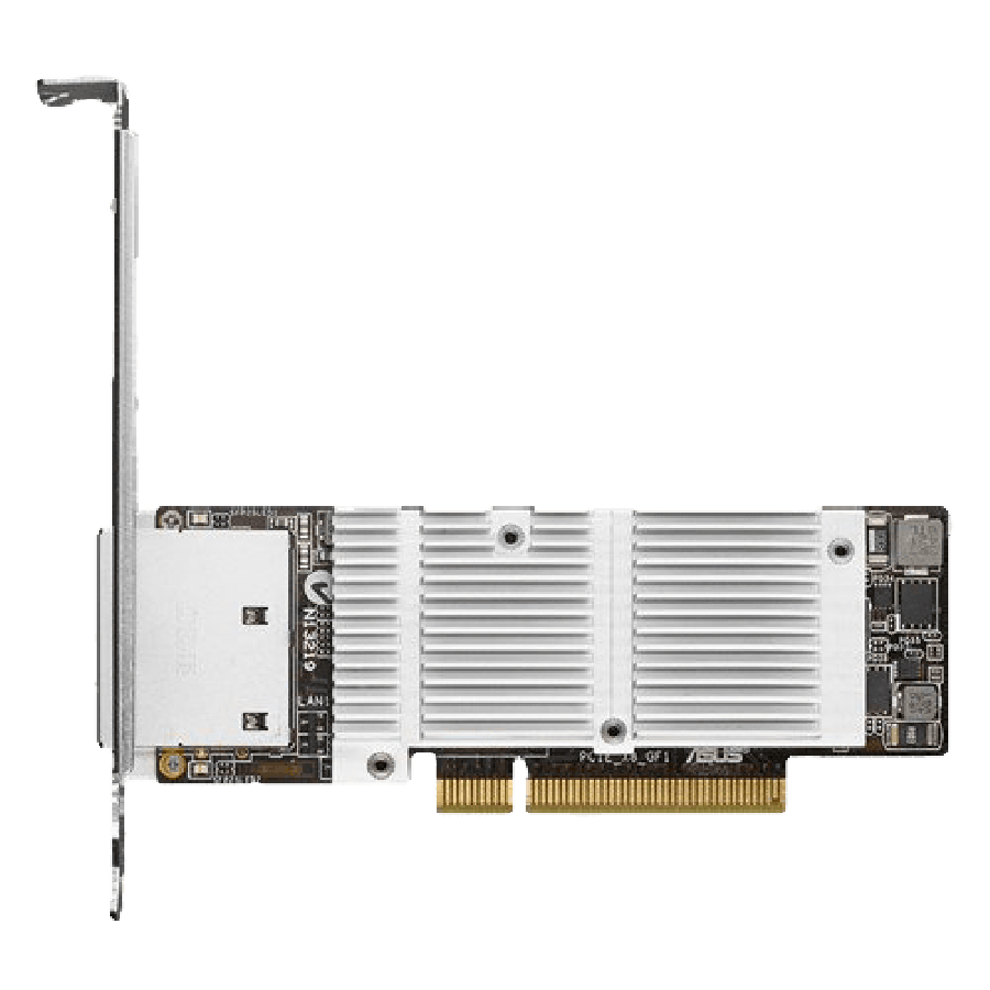Asus (PEB-10G/57840-2T) 2-Port 10GBase-T PCI Express Network Adapter, PCIe 3.0, Low Profile Bracket