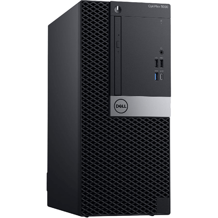 Refurbished Dell Optiplex 5060/i5-8500/8GB RAM/240GB SSD+1TB HDD/Windows 10 Pro/B