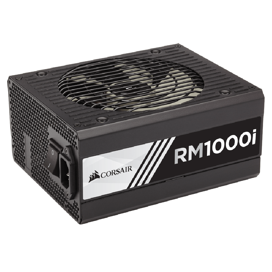 Corsair 1000W RMi Series RM1000i PSU, Fluid Dynamic Fan, Fully Modular, 80+ Gold