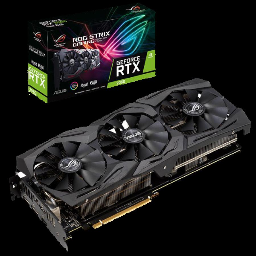 Asus ROG STRIX RTX2060 Advanced, 6GB DDR6, 2 HDMI, 2 DP, 1740MHz Clock