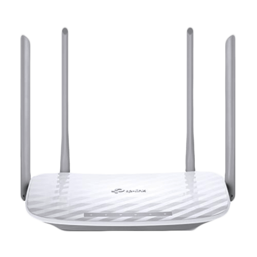 TP-Link (Archer C50 V4), AC1200 (867+300) Wireless Dual Band 10/100 Cable Router, 4-Port