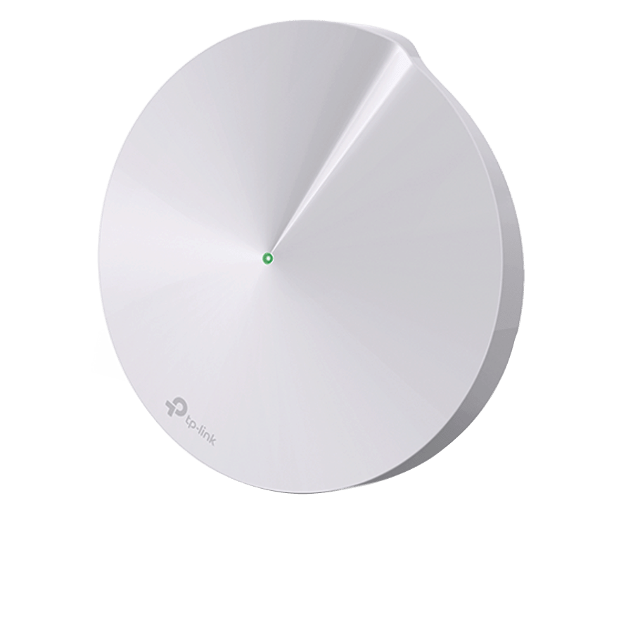 TP-Link (DECO M5) Whole-Home Mesh Wi-Fi System, Single Unit, Dual Band AC1300, USB Type-C, 2 X LAN - White