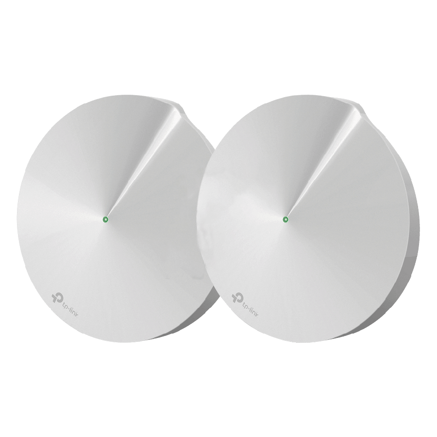 TP-Link (DECO P7) Whole-Home Hybrid Mesh Wi-Fi System with Powerline, 2 Pack, Dual Band AC1300 + AV600 - White