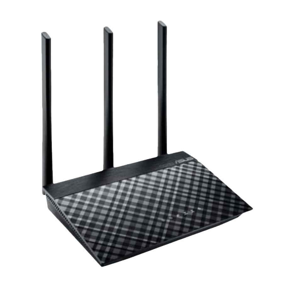Asus (RT-AC53) AC750 (433+300) Wireless Dual Band GB Cable Router, 2-Port, Smart Control