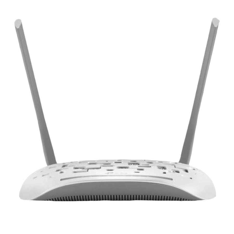 TP-Link (TD-W8961N) 300Mbps Wireless N ADSL2+ Modem Router/NAT Router/Access Point, 4-Port