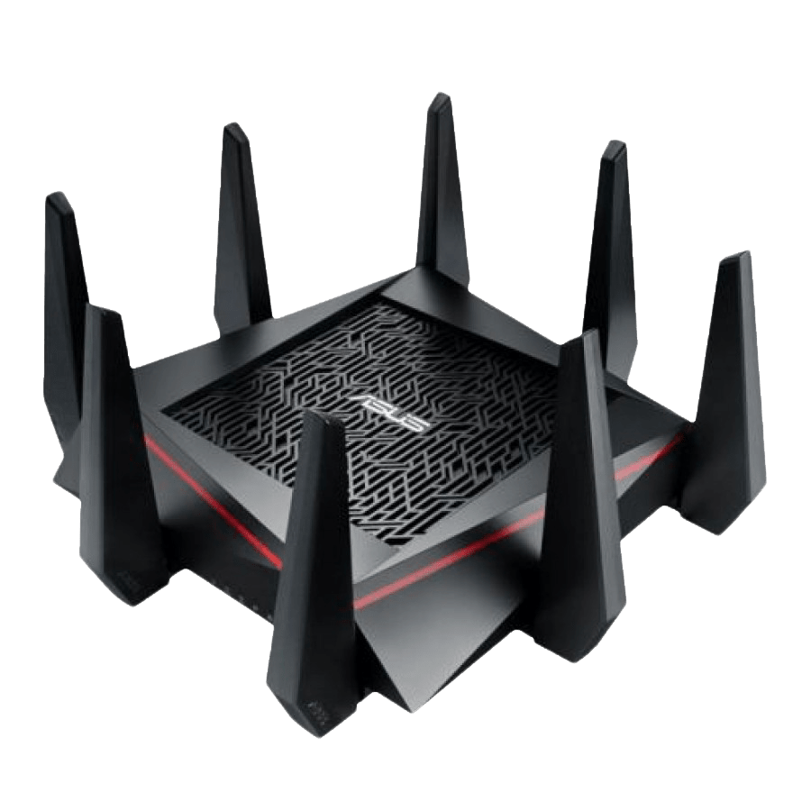 Asus (RT-AC5300) AC5300 (1000+2167+2167) Wireless Tri-Band GB Cable Router, USB 3.0, Auto Band Select