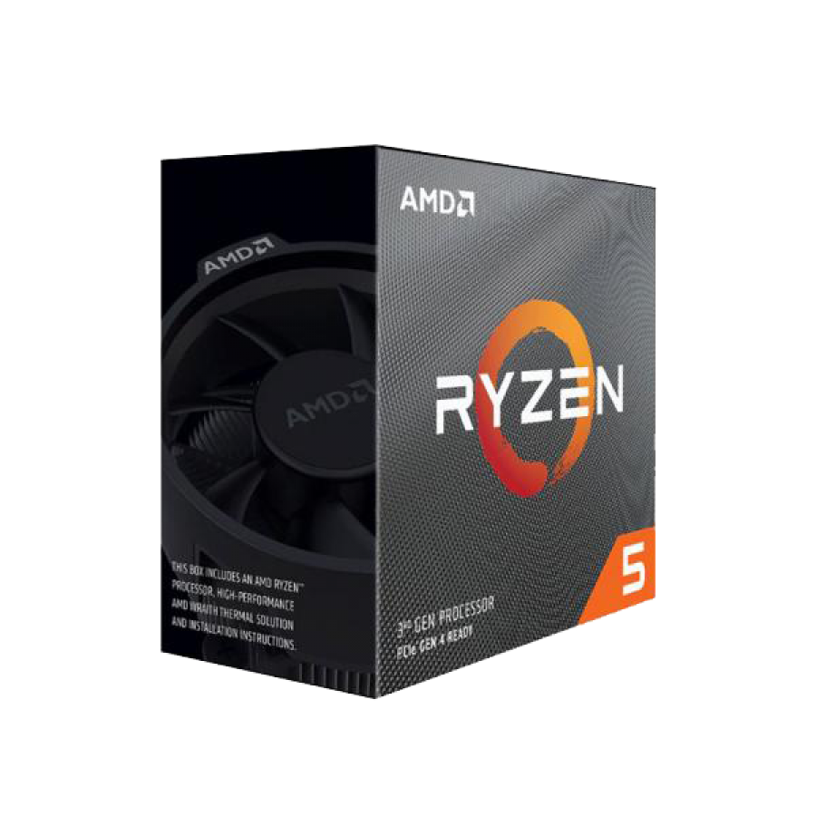 AMD Ryzen 5 3600 CPU with Wraith Stealth Cooler, AM4, 3.6GHz (4.2 Turbo), 6-Core, 65W, 35MB Cache, 7nm, 3rd Gen, No Graphics