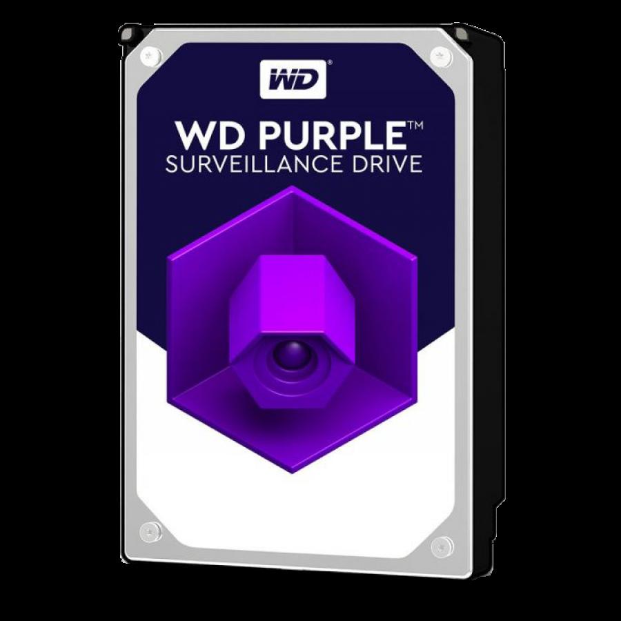 "WD 3.5"", 6TB, SATA3, Purple Surveillance Hard Drive, 5400RPM, 64MB Cache"