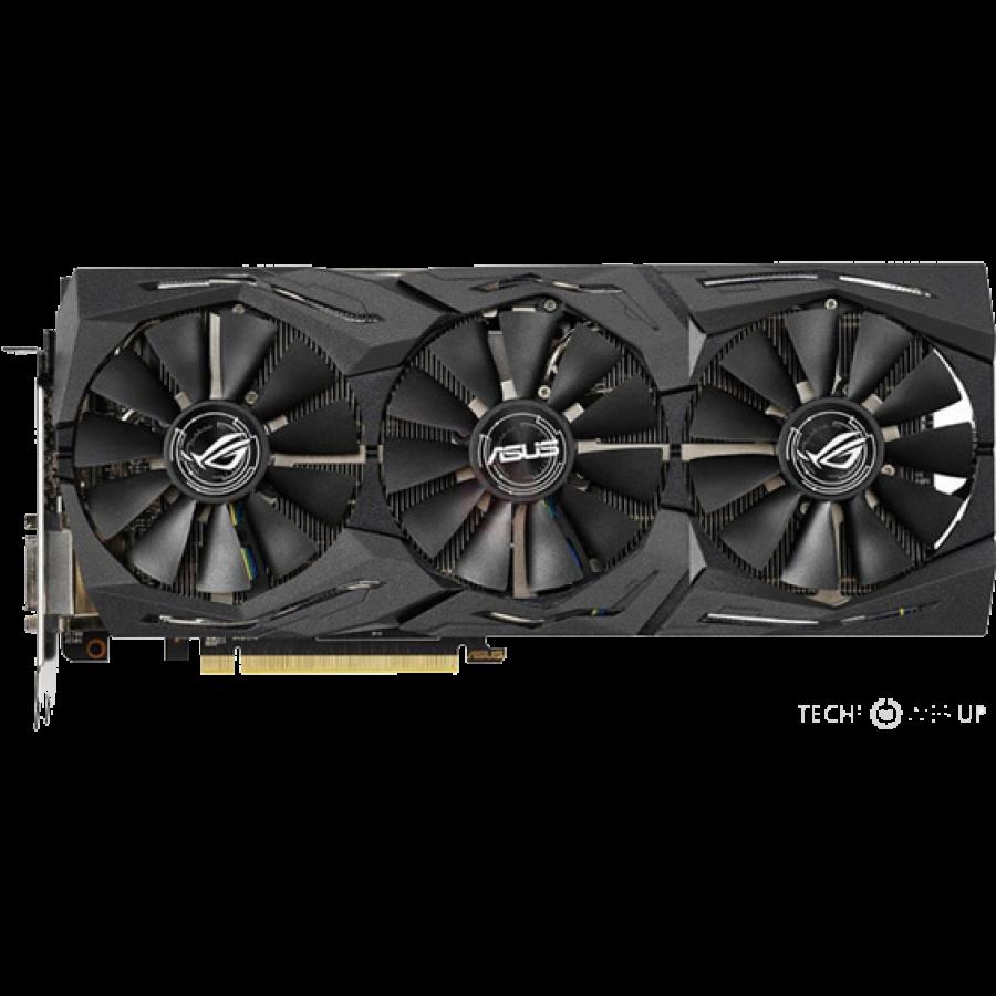 Asus Radeon ROG STRIX RX590 OC, 8GB DDR5, DVI, 2 HDMI, 2 DP, RGB Lighting