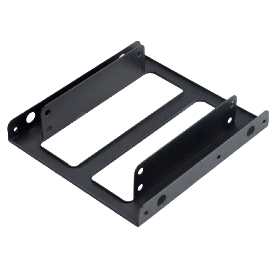 """Akasa SSD Mounting Kit, Frame to Fit 2.5"""" SSD or HDD into a 3.5"""" Drive Bay"""