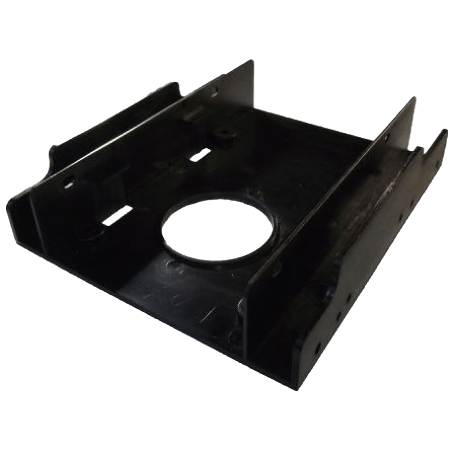 """Dynamode SSD Mounting Kit, Frame to Fit 2.5"""" SSD or HDD into a 3.5"""" Drive Bay"""