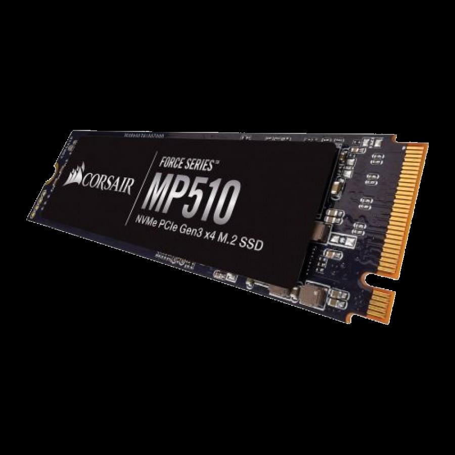 Corsair 480GB Force Series MP510, M.2 NVMe SSD, M.2 2280, PCIe, 3D NAND, R/W 3480/2000 MB/s
