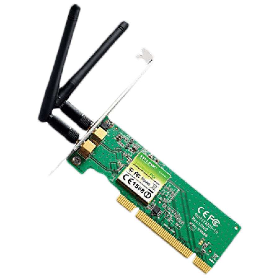 TP-Link Wireless N300 PCI Adapter, 2.4GHz 300Mbps -(TL-WN851ND)