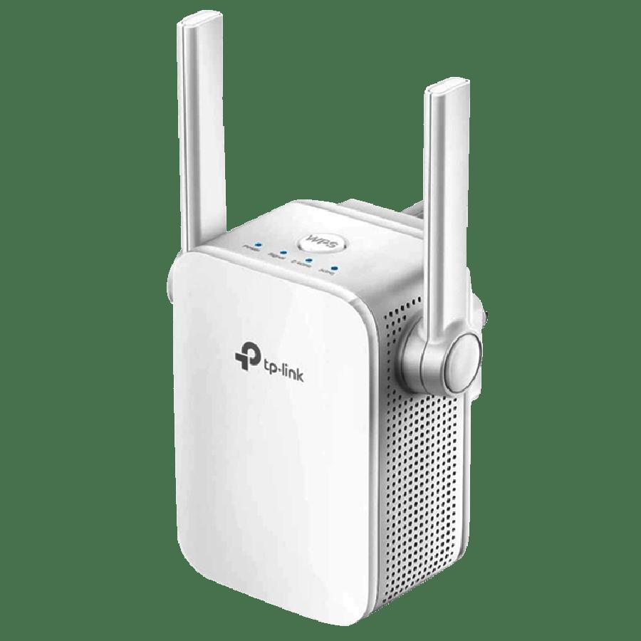 TP-Link (RE205) AC750 (433+300) AC Dual Band Wall-Plug WiFi Range Extender