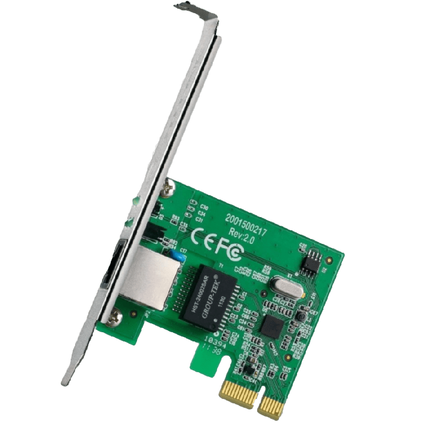 TP-LINK (TG-3468) Gigabit PCI Express Network Adapter (Low Profile Bracket Included)