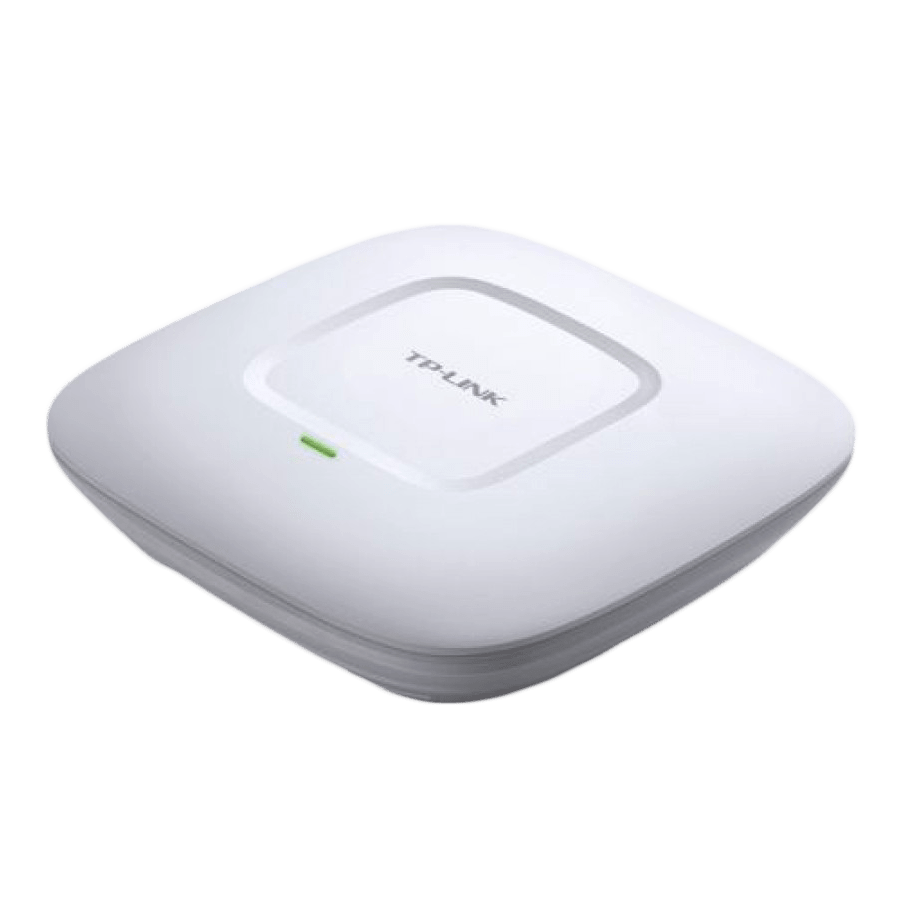 TP-Link (EAP110) 300Mbps Wireless N Ceiling Mount Access Point, Passive PoE, 10/100, Free Software