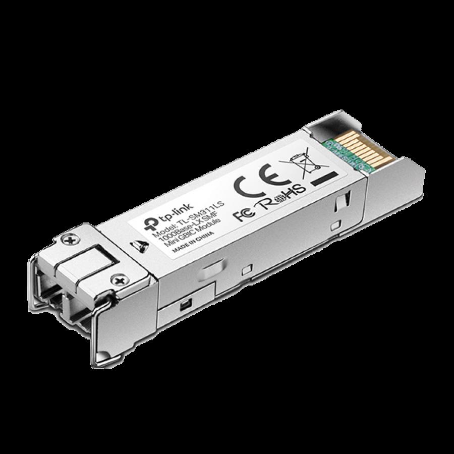 TP-Link (TL-SM311LS) MiniGBIC Single-Mode Fiber Module, 10km, 1310nm Wave