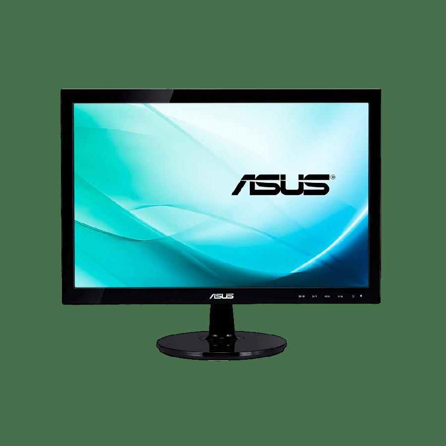 "Asus 21.5"" LED Monitor (VK228H), 1920 x 1080, 5ms, 80M:1, VGA, DVI, HDMI, HD Webcam, Speakers, VESA"