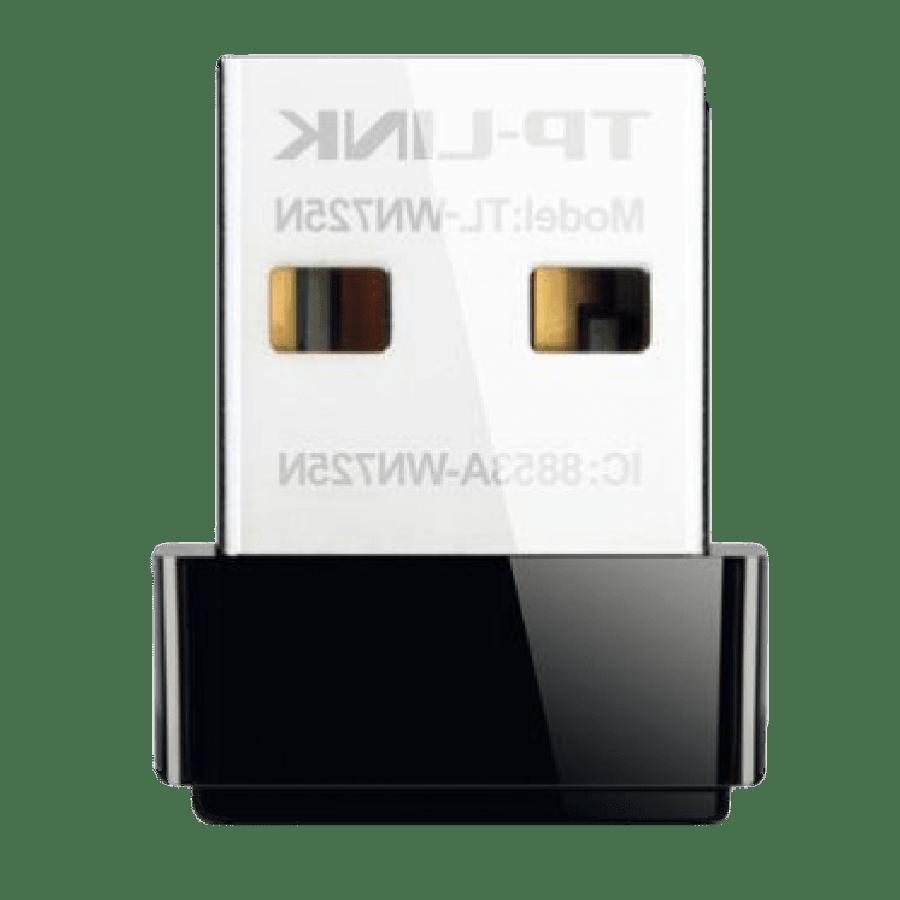 TP-LINK (TL-WN725N V2.2) 150Mbps Wireless N Nano USB Adapter Wi-Fi, Multimedia
