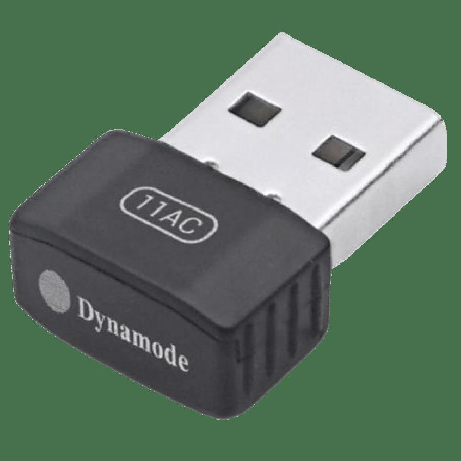 Dynamode (WL-AC-600M) AC600 Wireless Dual Band Nano USB Adapter, 2.4GHz and 5GHz