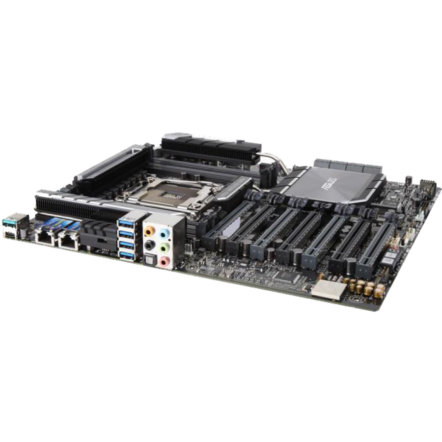 Asus X299-WS SAGE, Workstation, Intel X299, 2066, CEB, DDR4, 7 x PCIe, Dual M.2 & U.2, Dual LAN