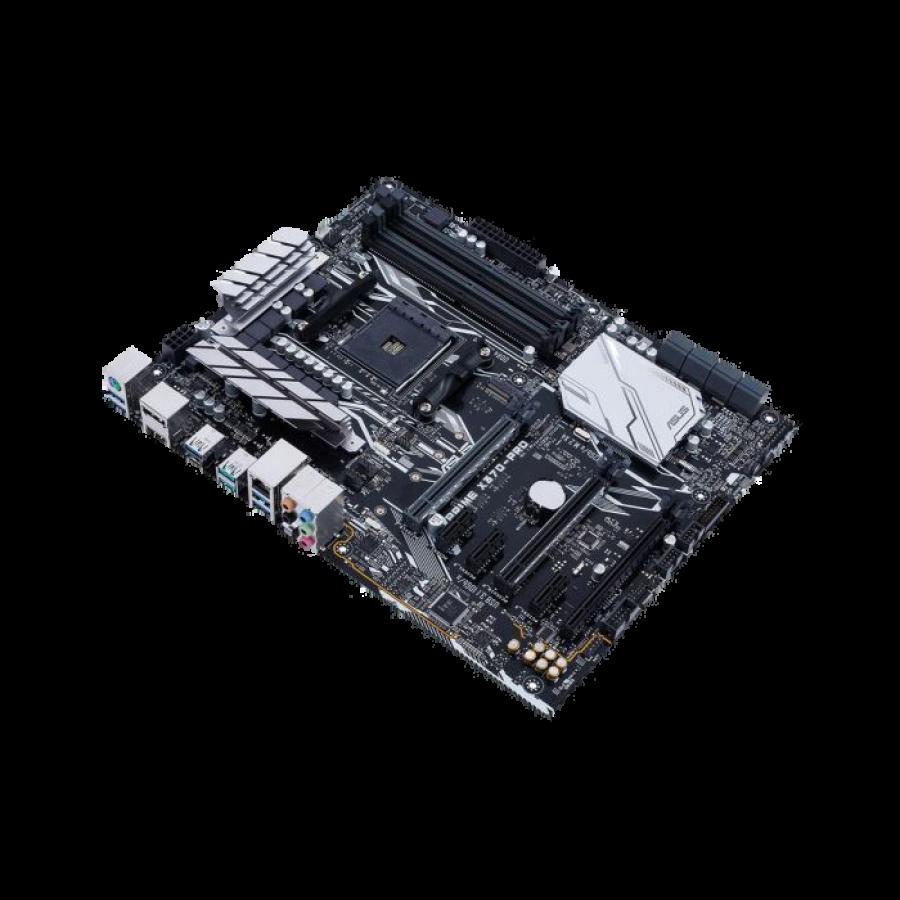 Asus PRIME X370-PRO, AMD X370, AM4, ATX, 4 DDR4, HDMI, DP, SLI/XFire, RGB Lighting