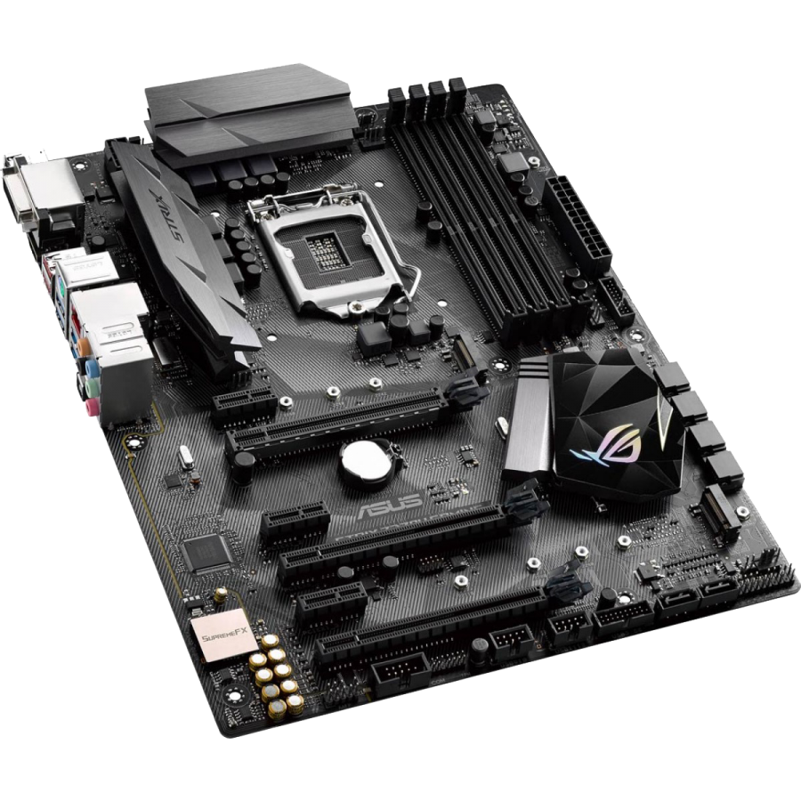 Asus ROG STRIX Z270H GAMING, Intel Z270, 1151, ATX, DDR4, XFire/SLI, DVI, HDMI