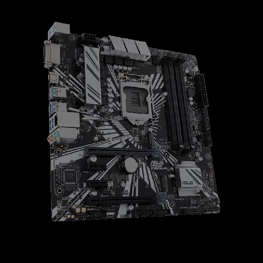 Asus PRIME Z390M-PLUS, Intel Z390, 1151, Micro ATX, XFire, DVI, HDMI