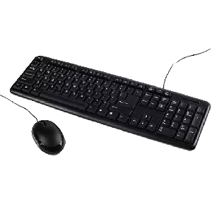 Spire LK-500 Wired Keyboard and Mouse Desktop Kit